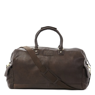 Paul Costelloe Living Men Leather Weekend Bag €200 from Dunnes Stores