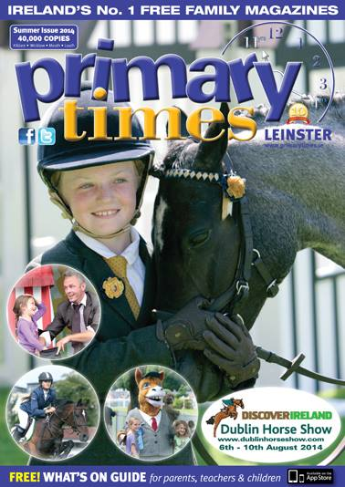 Summer Issue of  'Primary Times Leinster Magazine'