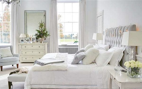 White Bedrooms…are you brave enough ! | Perfect Headboards Blog