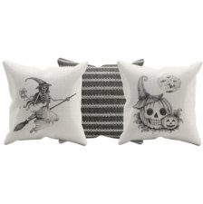 halloween scatter cushions