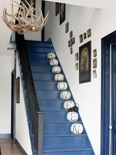 Funky Halloween Staircase
