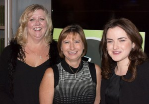 Angela, Karen and Ciara from the Interiors Association Committee