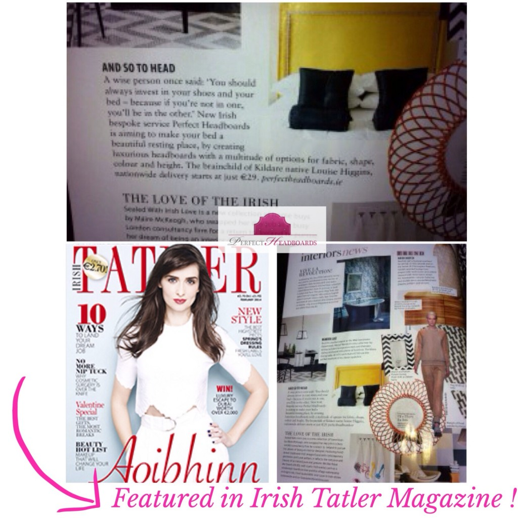 Featured in Tatler Magazine