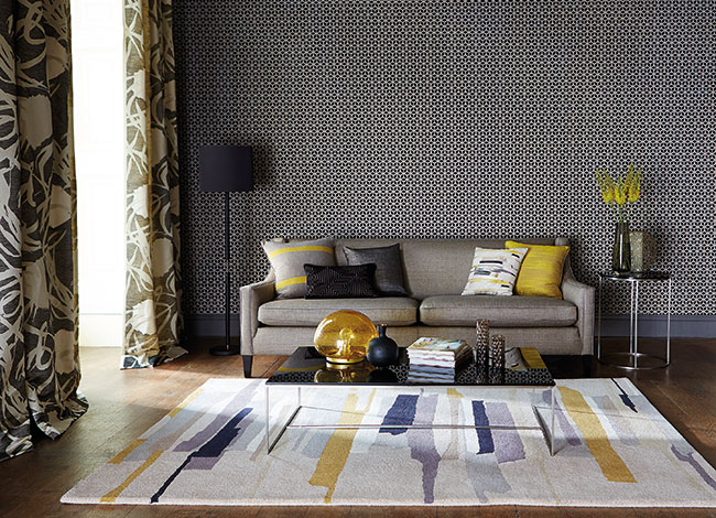 Zeal Rug by Harlequin Available from Aspire Design & Perfect Headboards