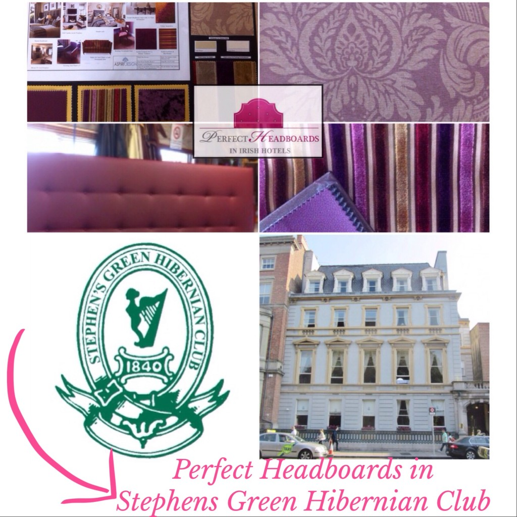 Aspire Design & Perfect Headboards design bedrooms for Stephens Green Hibernian Club