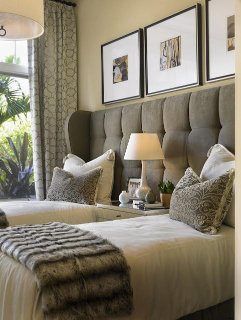 Maximise your guest bedroom perfect headboards blog for Guest room bed size