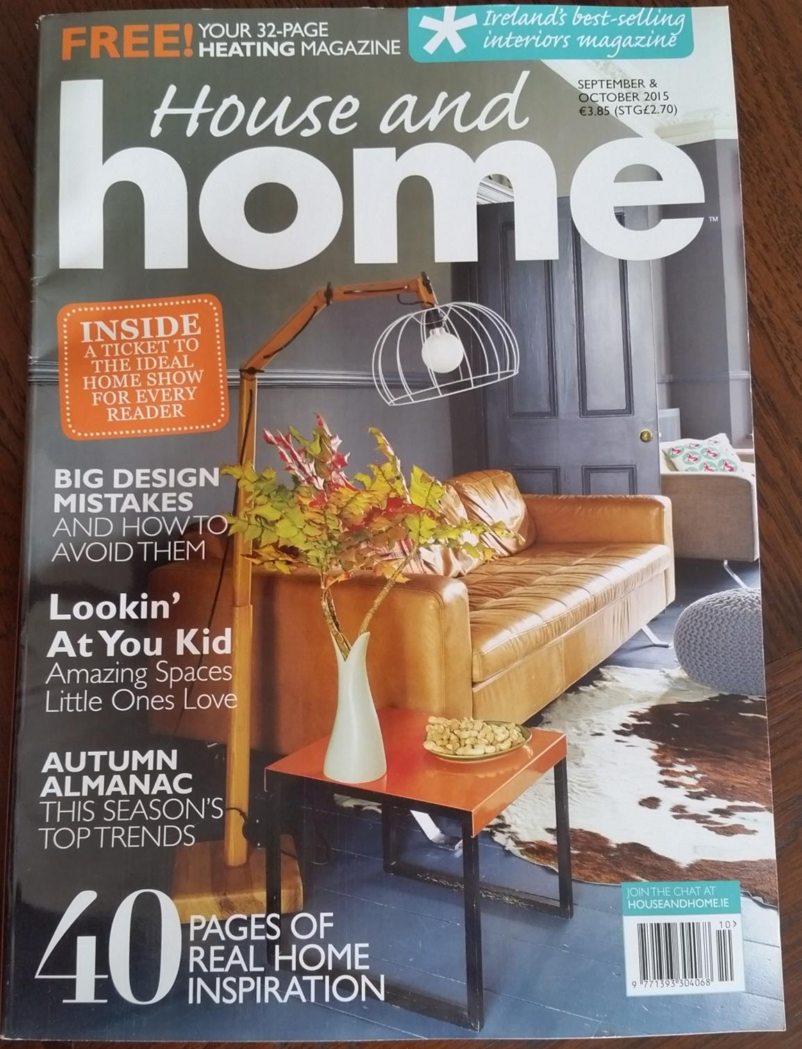 featured in house and home magazine | perfect headboards blog