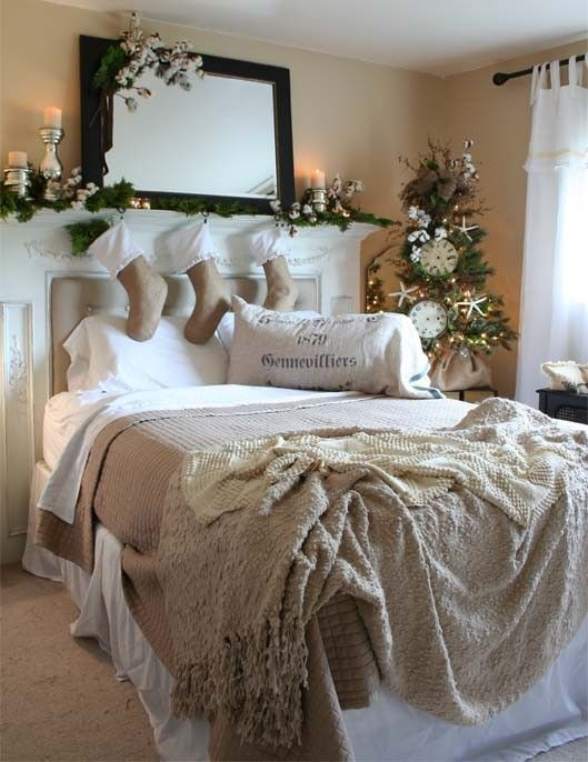 Christmas Bedroom from Pinterest