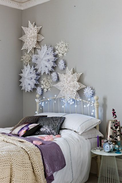 Christmas bedroom from Buzzfeed