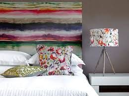 Jadu Painterly Finish Art Panel Headboard Available from Perfect Headboards