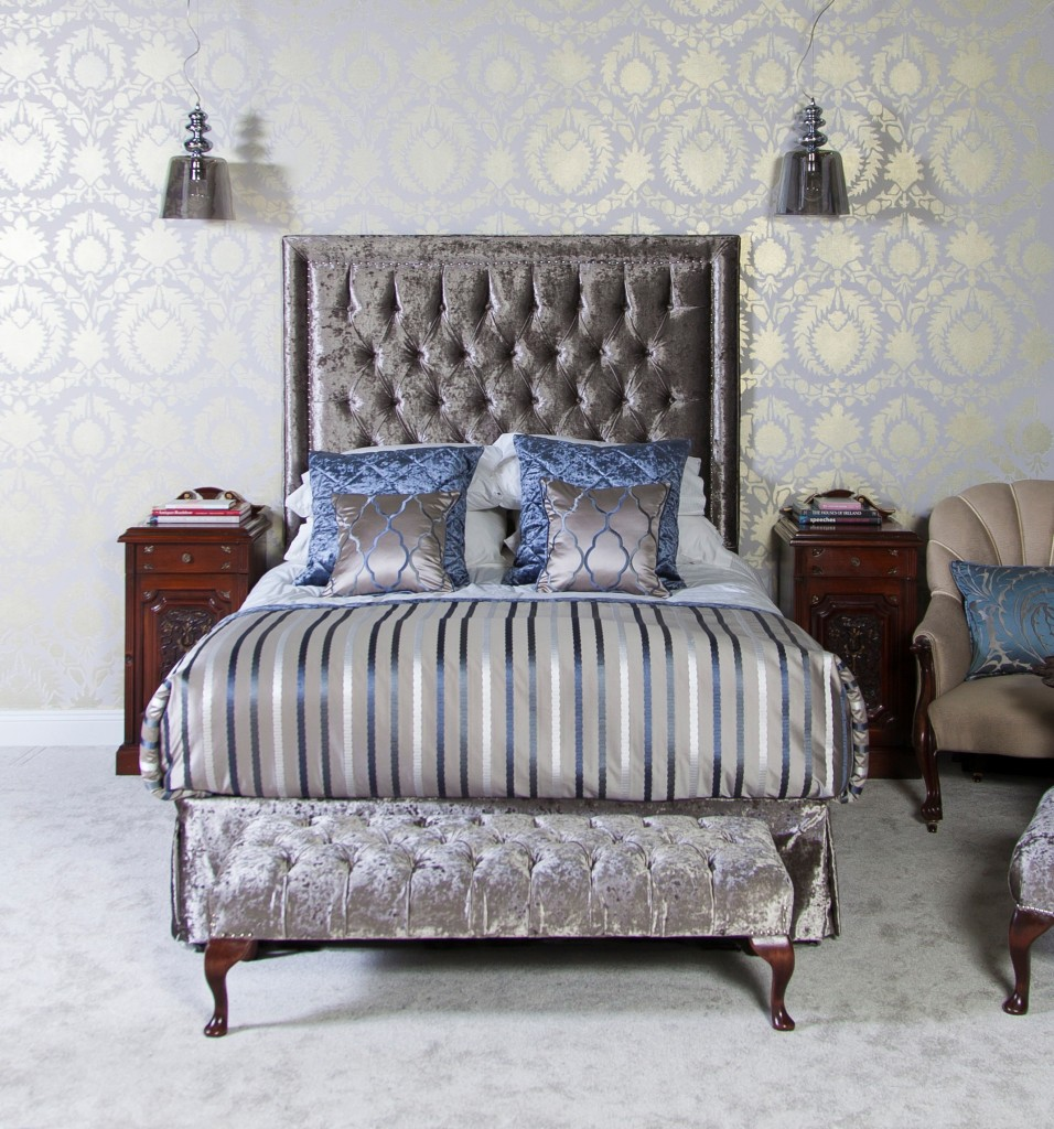 Our Deep Buttoned Headboard by Perfect Headboards