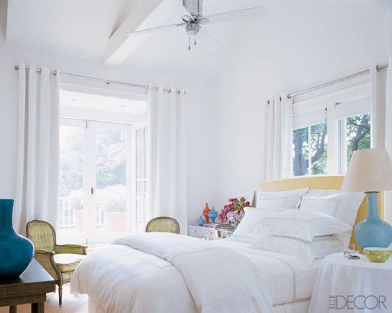 Sarah Jessica Parker and Matthew Broderick  From Elle Decor