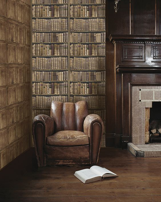 Oxford Univerity Archives Wallpaper Available from the Aspire Design & Perfect Headboards Studio