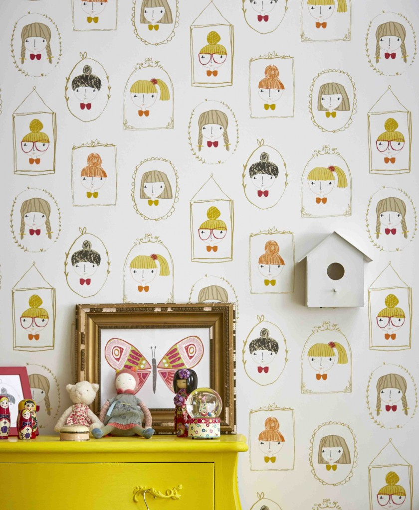 Hello Dolly @ €29.00 per roll Available from Aspire Design & Perfect Headboards Studio