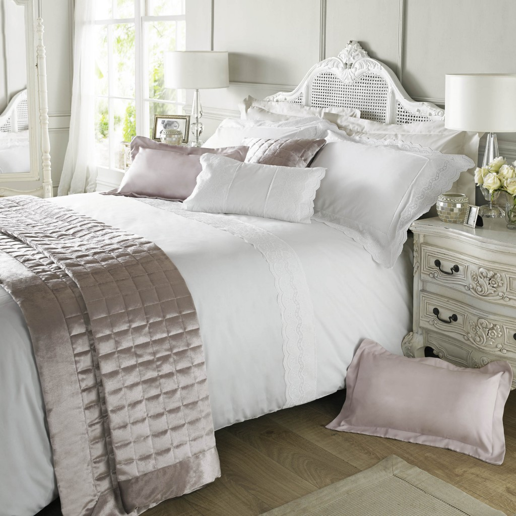 Aimee White by Holly Willoughby Available from Perfect Headboards and Aspire Design