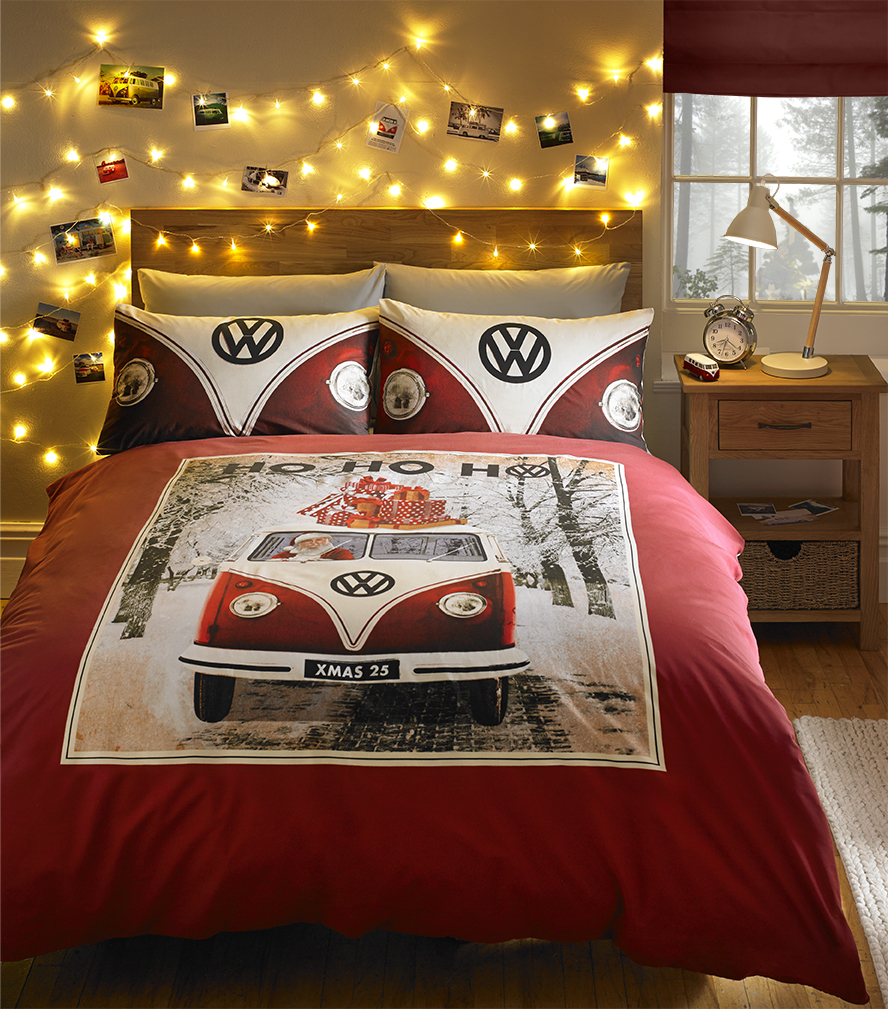 Ho ho ho Christmas by Volkswagon Available from Perfect Headboards and Aspire Design