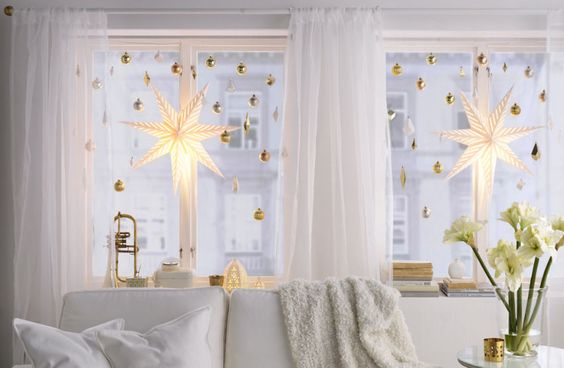 Window Decorating From IKEA