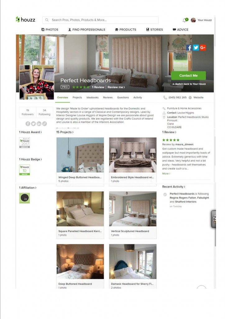 Perfect Headboards Houzz Profile From Houzz