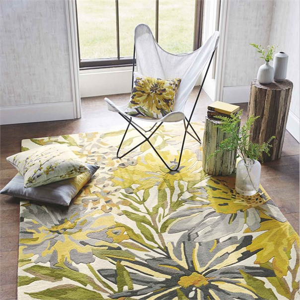 Floreale Maize Rug From Aspire Design Studio