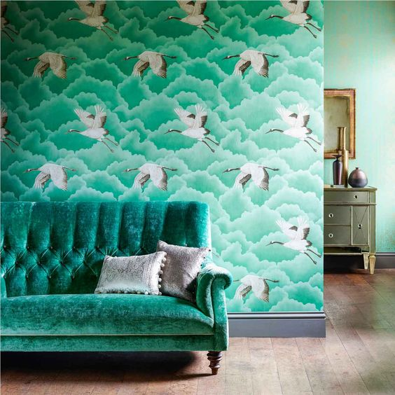 Wallpaper and Fabric by Harlequin From Aspire Design Studio