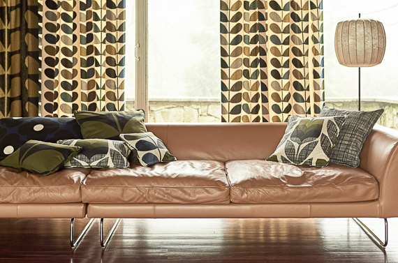 Orla Kiely Fabrics Available from Aspire Design and Perfect Headboards Studio