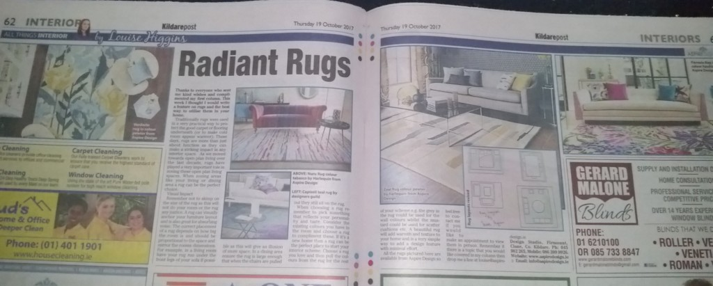 Radiant Rugs By Louise