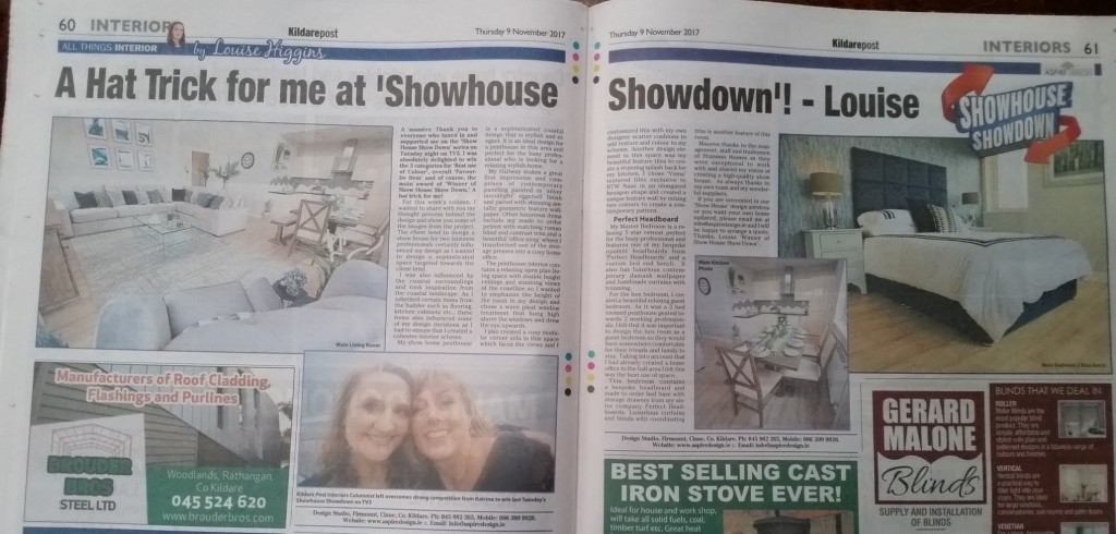 Winner at Showhouse Showdown By Louise Higgins