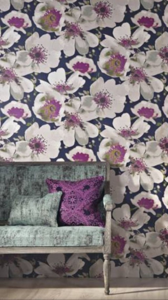 Eden Wallpaper and fabrics from Aspire Design