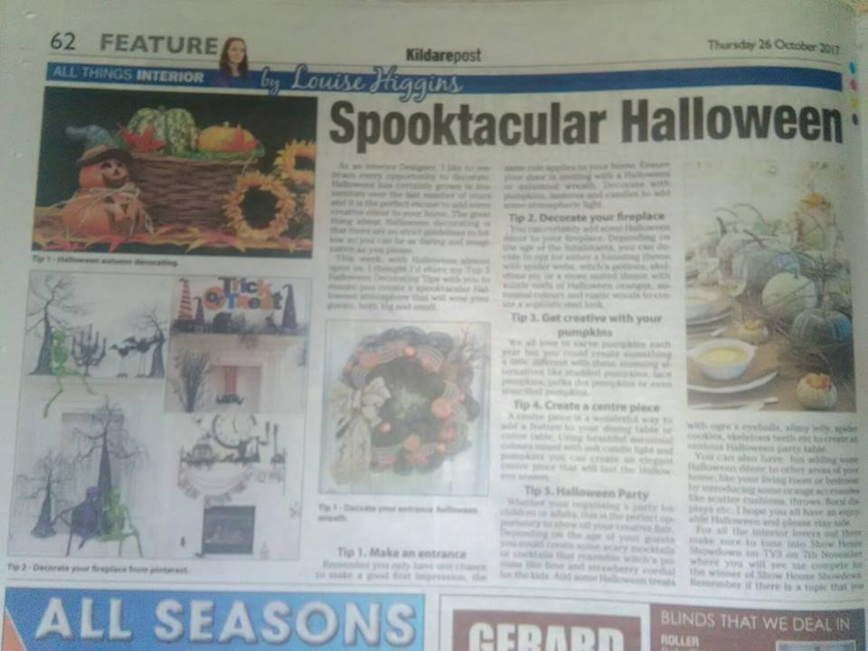 Spooktacular Halloween Decorating Ideas By Louise Higgins