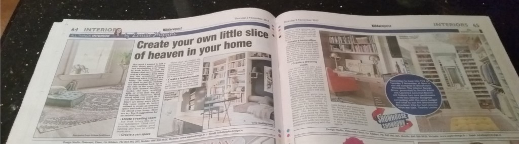 Create your own Little Slice of Heaven in your Home By Louise Higgins