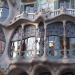 facade of the casa batlo