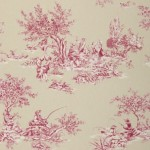 Harlequin Etienne Pink and Cream on Beige