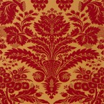 Thibaut Taddington Red on Metalic Gold