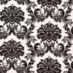 Thibaut Symphony Black on White