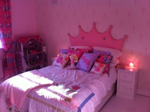 Emma princess bedroom