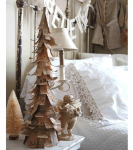 diy tree and garland