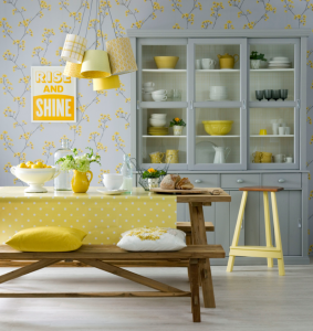 cheery yellow kitchn