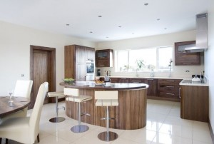 Contemporary Walnut, Shalford Interiors, Naas, Co. Kildare
