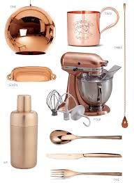 Copper Appliances / Accessories