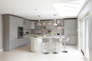 Harbour Grey Kitchen, Shalford Interiors, Naas.