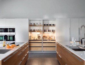 Santos Wood Natura Kitchen from LOMI Design , Dublin