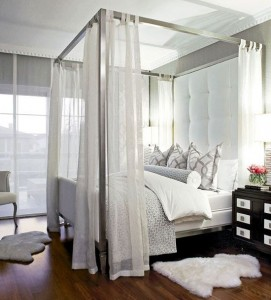 romantic bedroom 4 from traditional Home